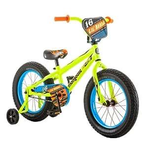 Amazon.com : 16 Inch Mongoose Lil Bubba Boys' Bike, Neon Yellow