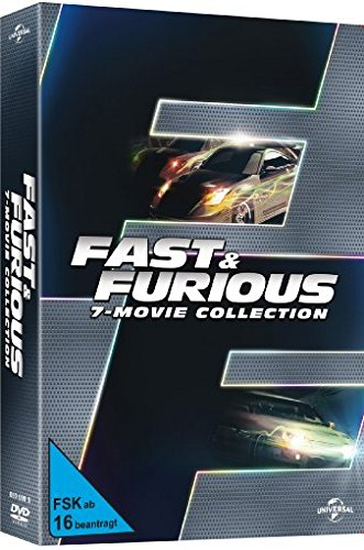 The Fast and Furious 1-7 [7 DVDs]
