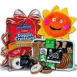Dog Lover's Gift Basket Stack / Pampered Dog Gift Basket Stack