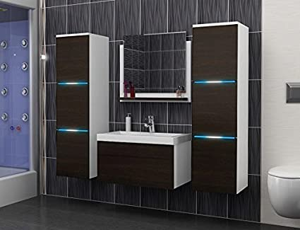 Luna Bathroom Furniture Set Bathroom Set Bathroom Furniture with Wash Basins and LED A08