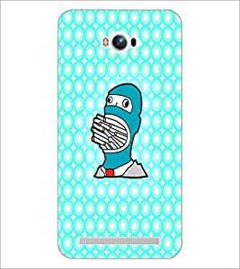 PrintDhaba Cartoon D-4374 Back Case Cover for ASUS ZENFONE MAX ZC550KL (Multi-Coloured)