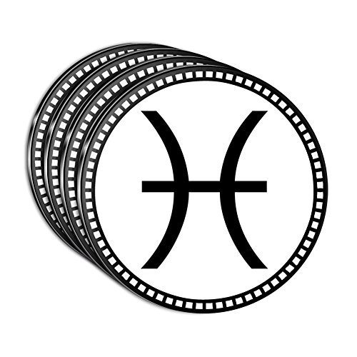 zodiac-sign-pisces-acrylic-coaster-set-of-4