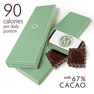 Dark Secret chocolate Two 7 Day Boxes