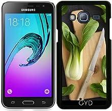 Funda para Samsung Galaxy J3 2015 (SM-J310) - Pak Choi by Elisabeth Coelfen