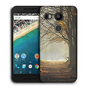 Snoogg Dense Pathway Printed Protective Phone Back Case Cover For LG Google Nexus 5X