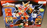 Bandai Hurricane Command Megazord Power Rangers Ninja Storm Electronic Action Figure