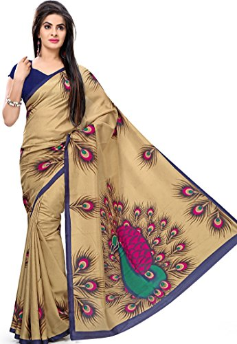 Samskruti Sarees Women's Abstract design Art Silk Saree(3169)