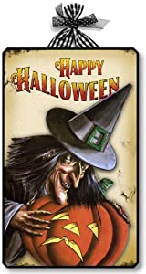 Item 10012 Vintage Style Halloween Witch Decoration