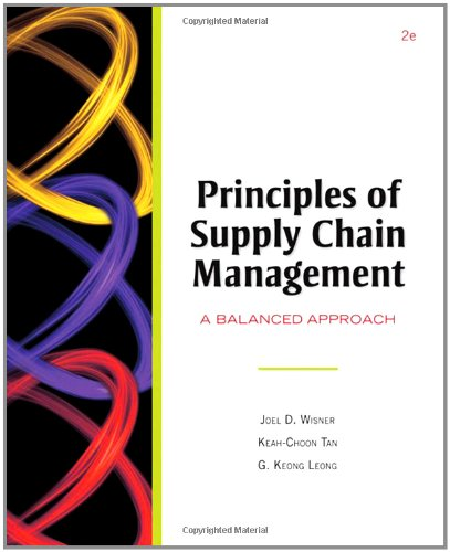 Principles of Supply Chain Management (with InfoTrac and...