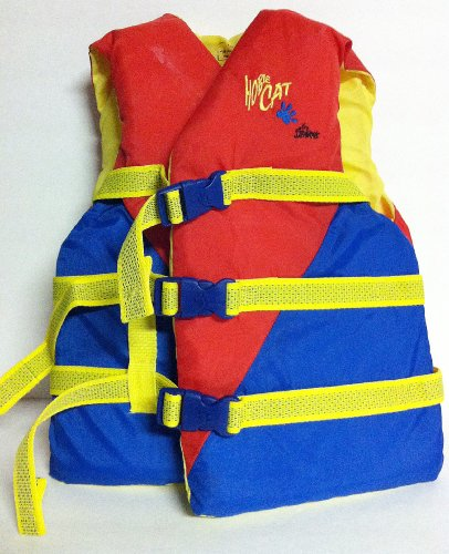 Stearns Hobie Cat 3060 Boating Watersport Life Vest Jacket Flotation Aid Youth 50-90 Lbs