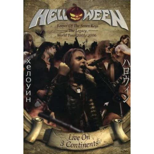 Keeper of the Seven Keys: Legacy World Tour (2007) 2 x DVD9