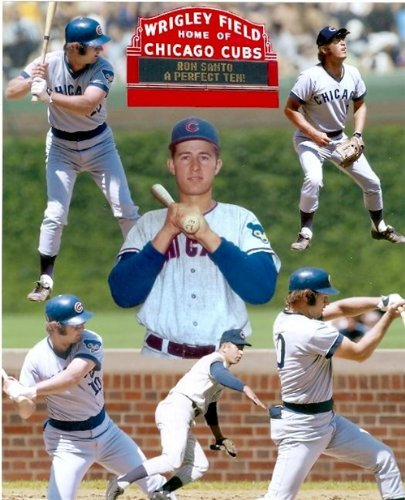 Ron Santo 8x10 photo unsigned Chicago Cubs at Amazon.com