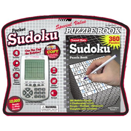 Cheap Westminister Sudoku Pocket Electronic Game with Puzzle Book (B000F5Z30M)