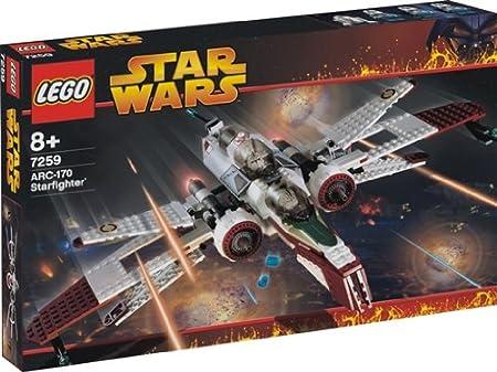 Lego Star Wars 7259 - ARC-170 - Starfighter