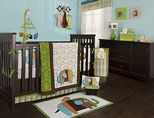 Kidsline Zutano Elephant Crib Bedding Collection Baby