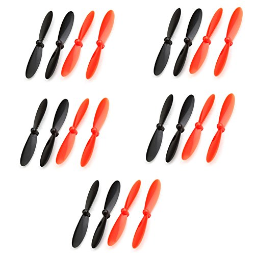 Neewer® 5x Propellers Main Blades Props Set for Hubsan X4 H107C RC Quadcopter