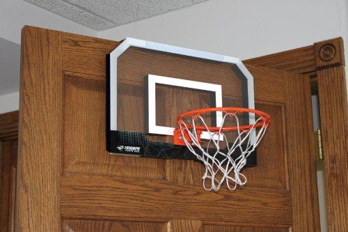 Triumph sports door court basketball arts entertainment for Sport court basketball hoop