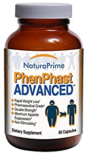 Phenphast Advanced - Double-strength For Rapid Weight Loss - Guaranteed from NaturaPrime