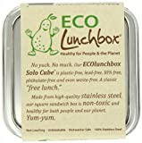 ECOlunchbox Stainless Steel Food Container, Solo Cube