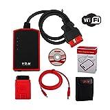 UCANDAS VDM Full System Universal Car Diagnostic Tool Latest Version V3.84 With Honda Adapter Support Wifi Update Online