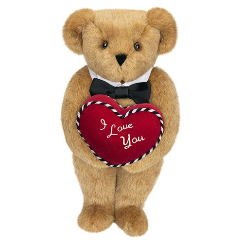 "15"" Romantic at Heart Bear"