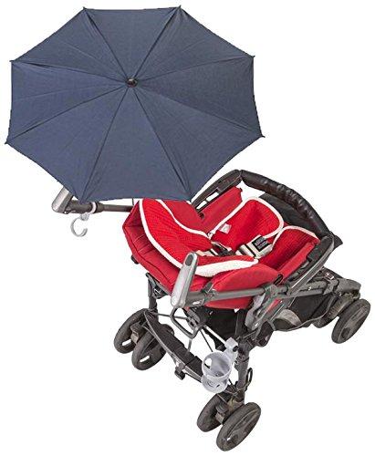 Baby Minder 050.7400-13, Ombrellino Parasole per Passeggino e Carrozzina, Blu