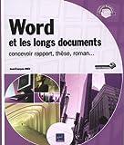 echange, troc Jean-François RIEU - Word et les longs documents - concevoir rapport, thèse, roman