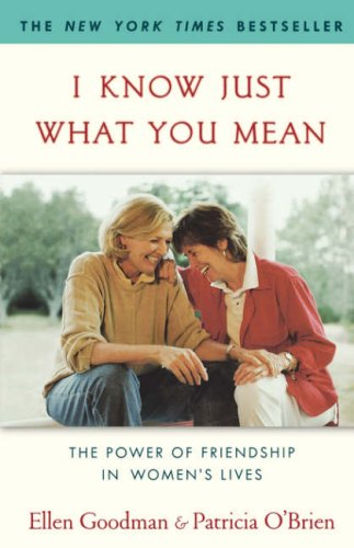 Image for I Know Just What You Mean: The Power of Friendship in Women's Lives
