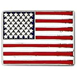 American Flag Large Pin