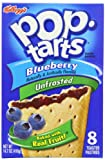 Kelloggs Pop Tarts Blueberry 416 g (Pack of 6)