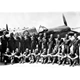 The Tuskegee Airmen Black History Pioneer Biographical Timeline Art Poster