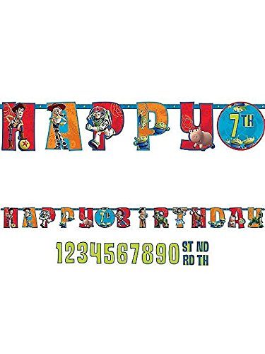 Toy Story Letter Banner 10 Ft.