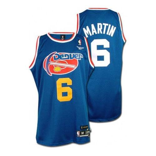 Kenyon Martin Reebok Throwback Swingman Denver Nuggets Jersey:
