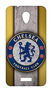 Chelsea Football Club Design - Micromax Canvas PACE Q416 Mobile Hard Case Back Cover - Printed Designer Cover for Micromax Canvas PACE Q416 - MQ416CFCB122