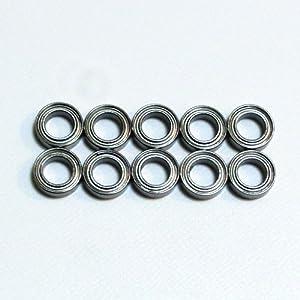 1060ZZ bearing 10mm ~ 6mm ~ 3mm 10-piece set two-sided metal shield (Minute Racer Mini-Z TB-03 Doripake) 1060ZZ-10P
