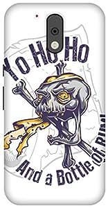 The Racoon Lean printed designer hard back mobile phone case cover for Motorola Moto G Plus 4th Gen. (Pirate San)