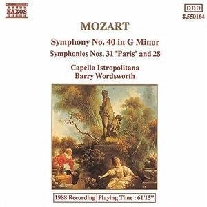Symphonies 28, 31 & 40