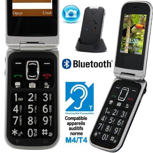 Mobiho-Essentiel le CLAP LUXE, le téléphone