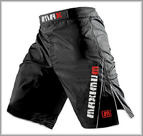 mma-fight-shorts-grappling-short-kick-boxing-cage-fighting-shorts-all-sizes-black-xl-35-37