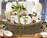 Epitome of Luxury Spa Basket by GiftBasket