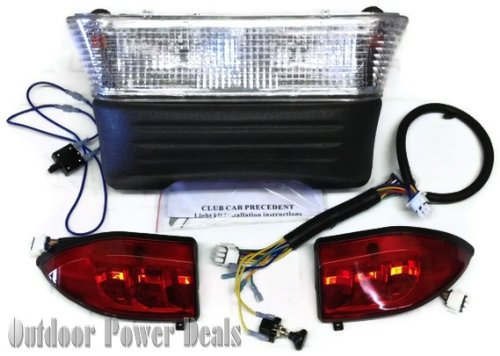 Club Car Precedent Gas Golf Cart Light Kit Headlights Led Tail Lights 2004 - 2007