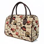 women's travel bag canvas weekend duf...