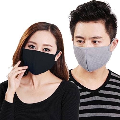 Women Men Outdoor 3 Pcs Anti Dust Anti-fog 3D Comfort Breath