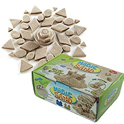 Kinetic Magic Sand Kids Childrens DIY Fun Therapy Play 500gr 1.1lb Box non toxic