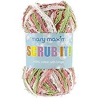 Mary Maxim Scrub it Yarn, Summer Brown