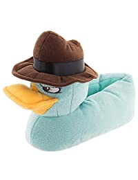 Disney Boys 11-3 Perry the Platypus Slippers