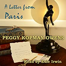 A Letter from Paris: Mrs Duchesney's Mystery in the Stamp Market: A Mrs Duchesney Mystery Audiobook by Peggy Kopman-Owens Narrated by Evie Irwin