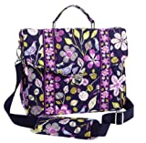 Vera Bradley Attache in Floral Nightingale, Bags Central