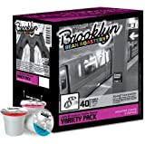 Brooklyn Beans Variety Pack Coffee Single-cup coffee for Keurig K-Cup Brewers for Keurig Brewers, 40 Count