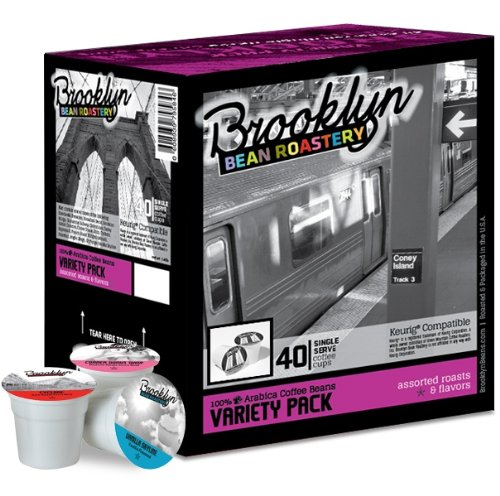 Brooklyn Beans Variety Pack Coffee Single-cup